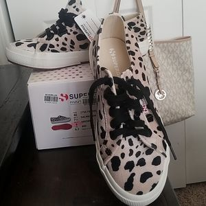 Brand New Dalmation Superga sneakers